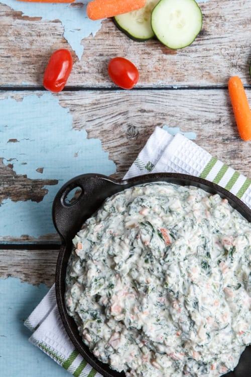 spinach and kale greek yogurt dip copycat recipe from trader joe s