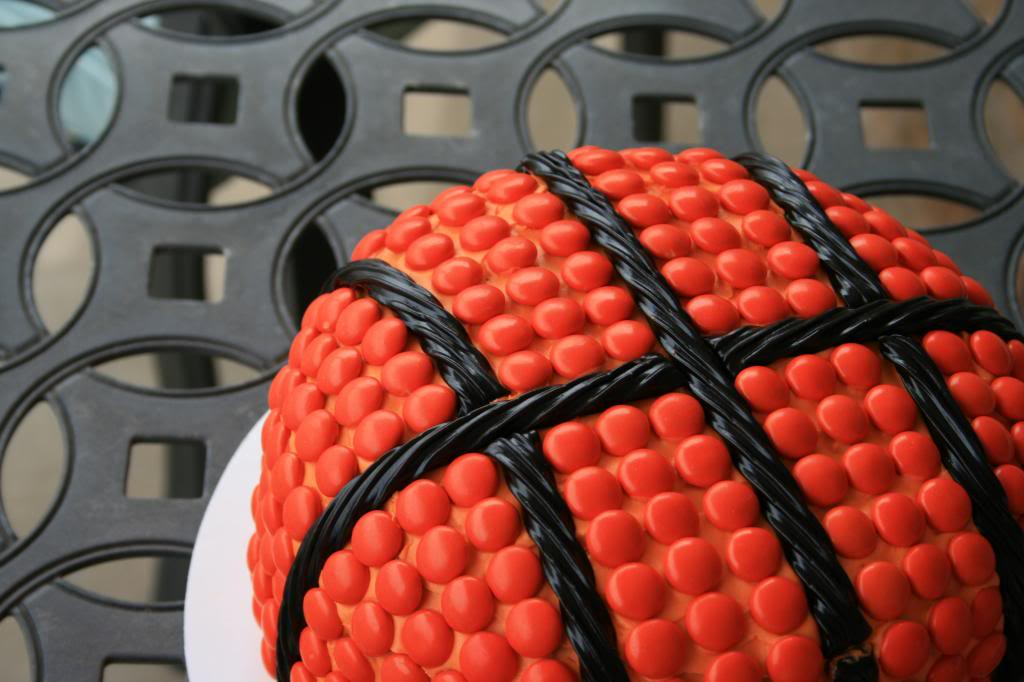 Basketball Cake Tutorial