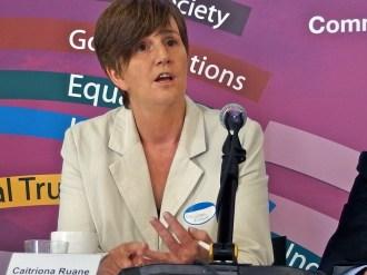 Caitriona RUANE MLA (Sinn Fein) (c) Allan LEONARD @MrUlster