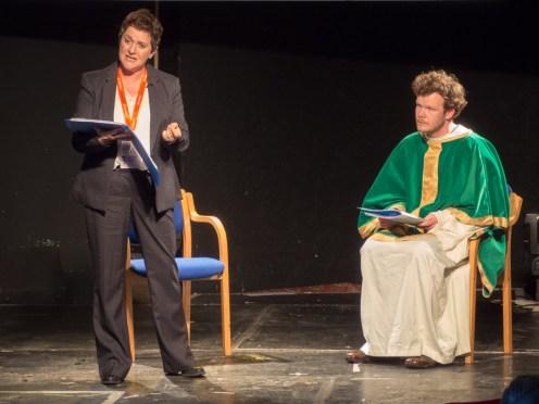 Deporting Patrick. Play by Kabosh Theatre. (c) Allan LEONARD @MrUlster