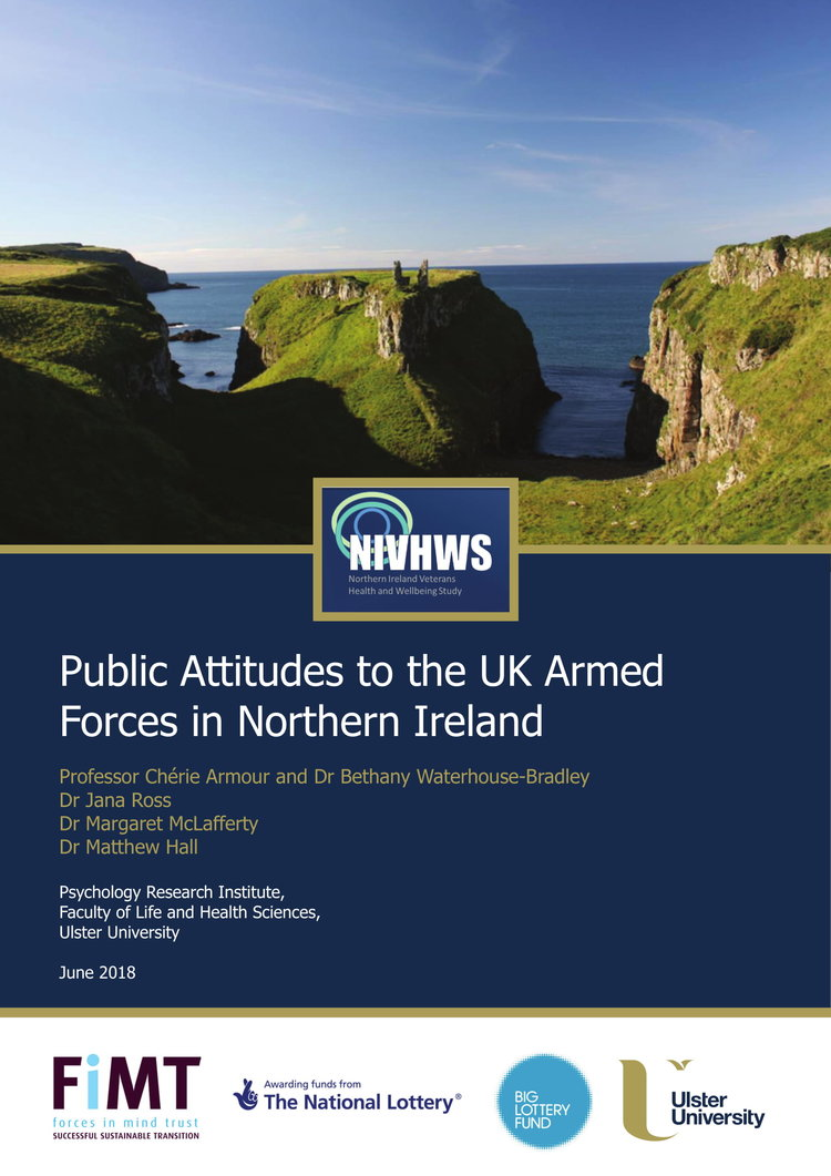 """Northern Ireland attitudes to UK Armed Forces: """"A positive…"""