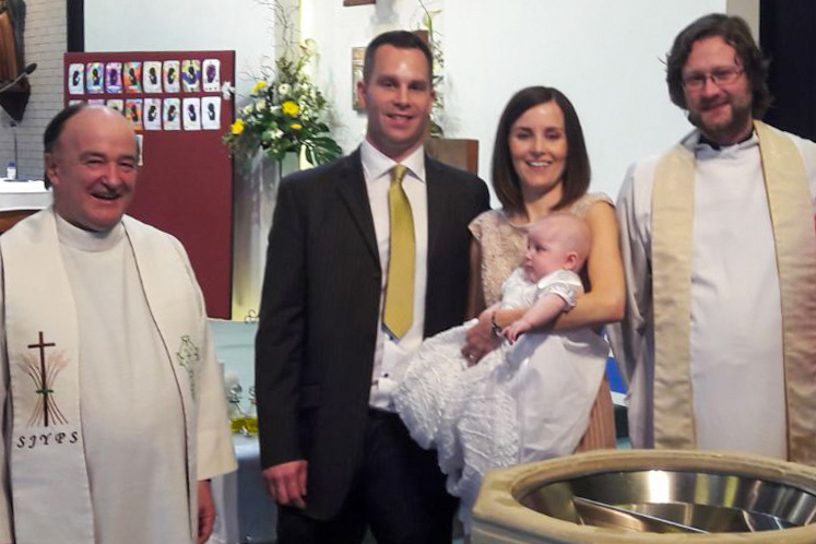 No obstacle to Kayla's baptism