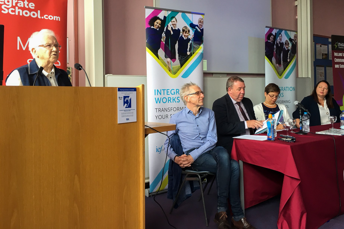 Let's talk about education @FeileBelfast