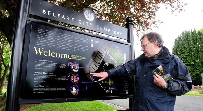 Respecting our complex narrative: A tour of Belfast City Cemetery