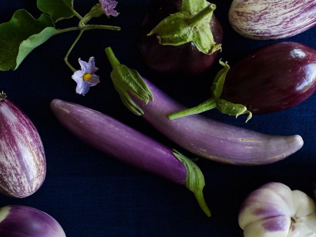 More eggplants