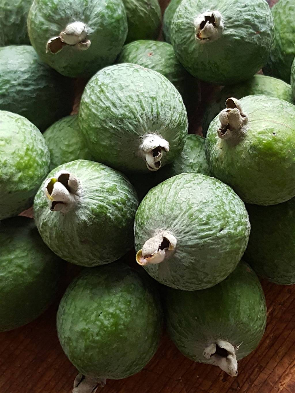 Feijoas Poached in White Wine