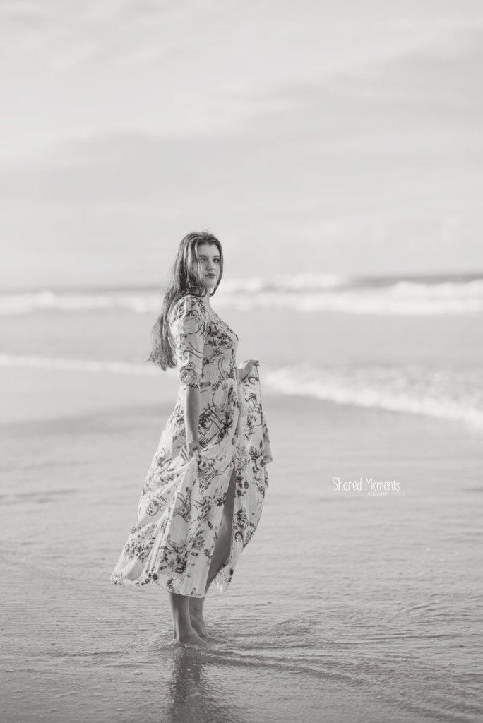 Model Beach Photo Shoot