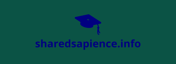 An image of the sharedsapience.info 'About' banner