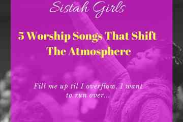 5 worship songs that shift the atmosphere