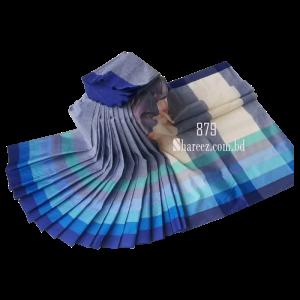 Rainbow Cotton Saree 879