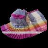 Rainbow Cotton Saree 1111