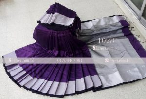 Half Silk Saree 1023