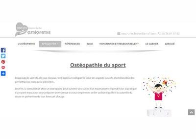 Stéphanie Bertei Ostéopathe