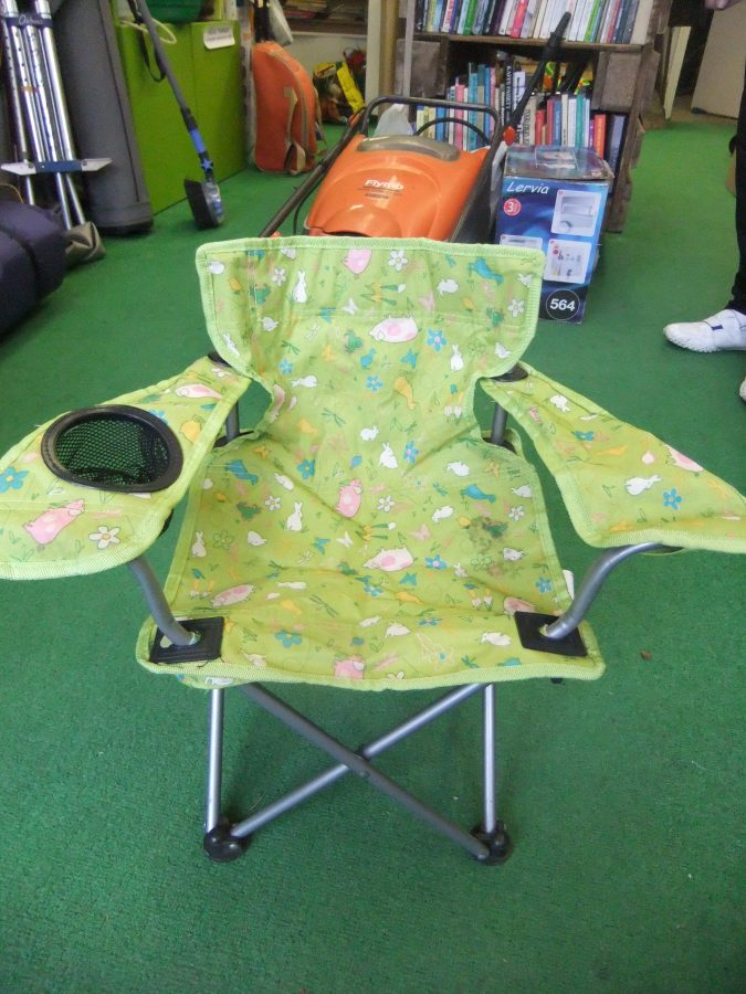 child camping chair meditation ikea s green share frome a library of things