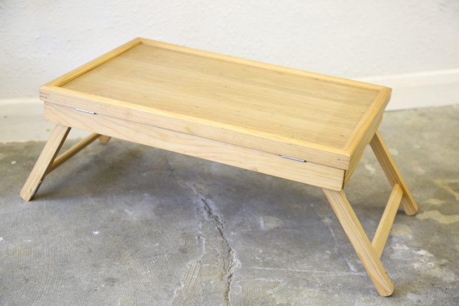 Foldable Wooden Lap/Bed Tray