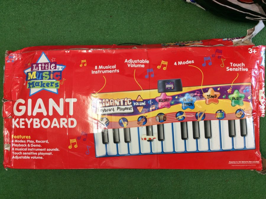 Giant Musical Keyboard Game