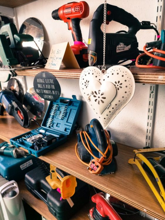 DIY equipment and tools to borrow in Frome.