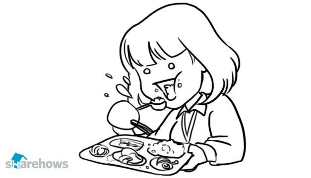 학교 급식 맛있게 먹는 방법