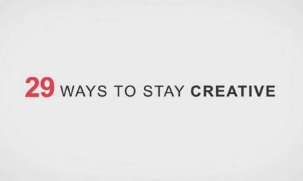 크리에이티브해지는 29가지 방법