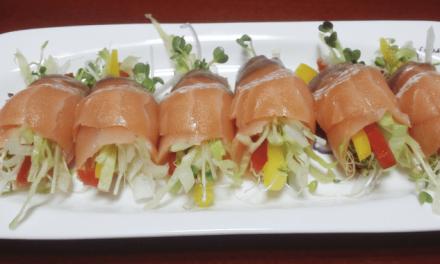 다이어트 레시피 – 연어 샐러드롤