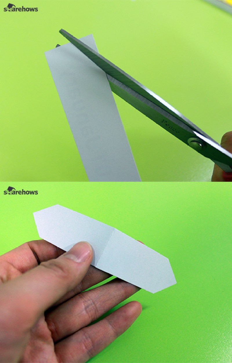 How to make a simple bookmark 01