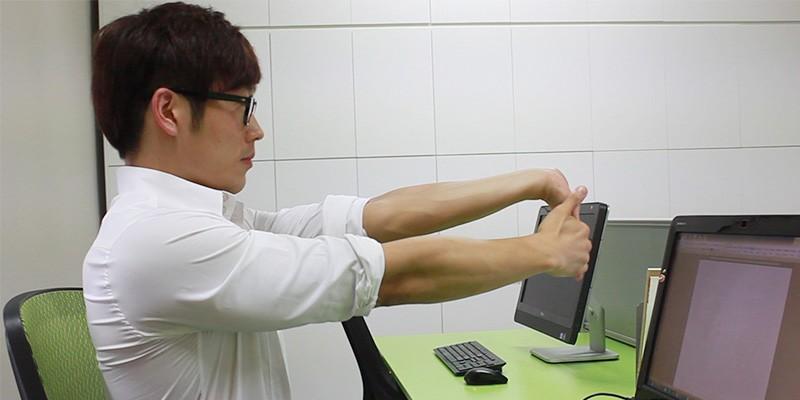 직장인을 위한 목, 손목 스트레칭법