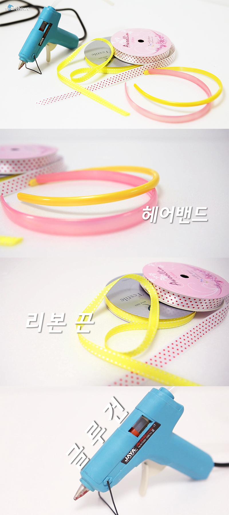 make-a-hairband-with-ribbon 01
