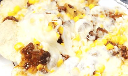 초간단 감자칩 피자 만들기