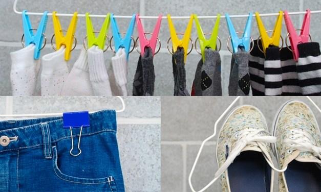 옷걸이를 활용한 정리 노하우 3가지