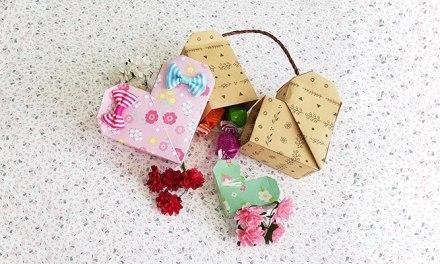 설레는 하트 ♥ 선물상자 & 미니보관함 종이접기