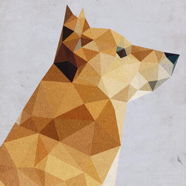 low polygon art 13