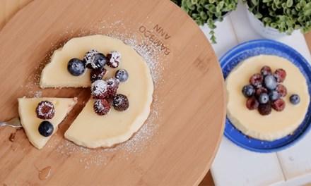 집에서 만들어 먹어요! 촉촉한 필라델피아 치즈케이크