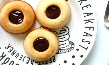 튀기지 않아서 담백한 '구운 도넛' 만들기