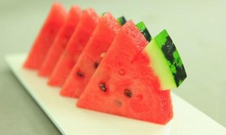 센스있는 테이블을 만드는 과일 손질 -수박편-