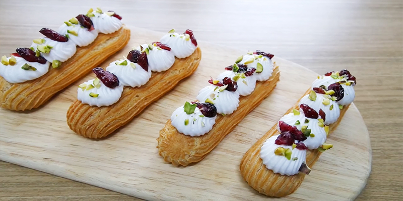 맛있는 프랑스 디저트, 에클레어 만들기
