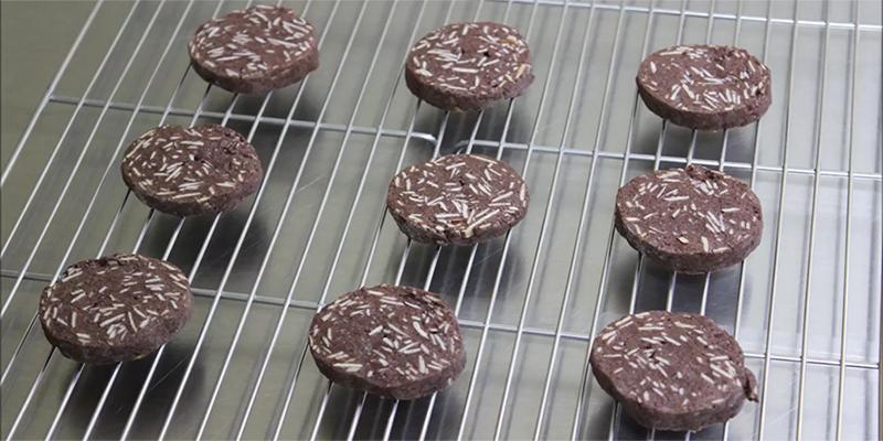 프라이팬으로 굽는 아망디오 쇼콜라 쿠키