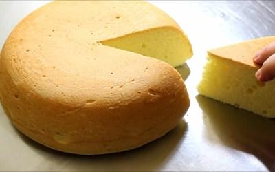폭신폭신한 케이크 시트! 밥통 케이크 만들기