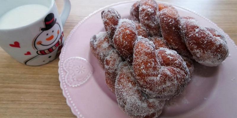 꽈배기 도넛 만들기