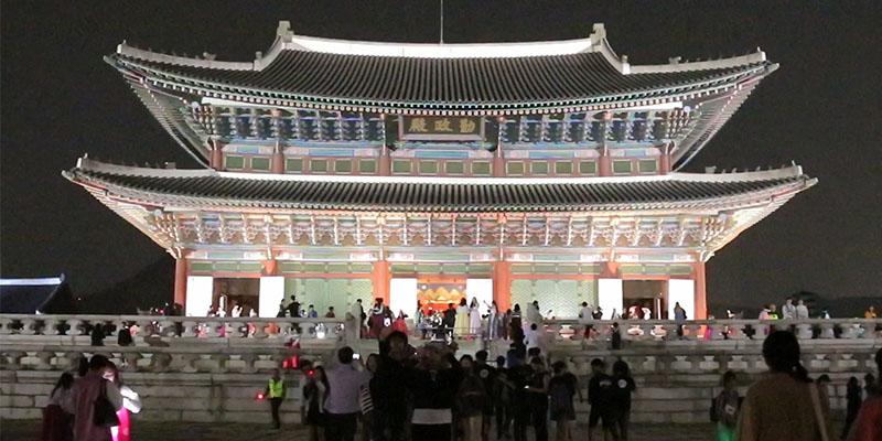 2017 경복궁 야간개장이 시작한다.