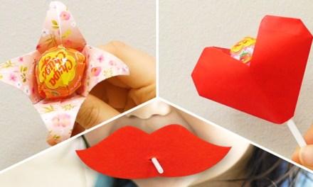 막대사탕 센스 있게 포장하는 방법 3가지