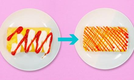 마요네즈 케첩 가늘게 뿌리는 방법