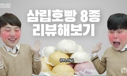 ㄴ상상도 못한 정체ㄱ 하다하다 이런 맛까지? 삼립호빵 8종 리뷰!