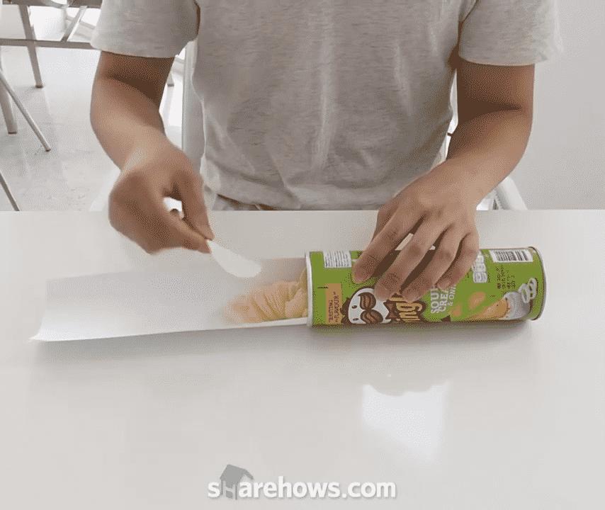 프링글스(감자칩) 먹을 때, 더 편하게 먹는 방법