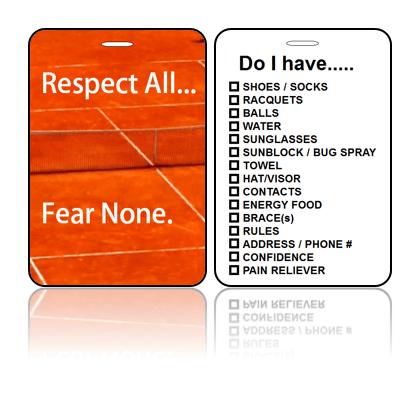Sports/Club Bag Tags - Fear None