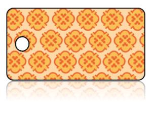 Create Design Key Tags Orange Yellow Background