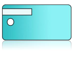 Create Design Key Tags Gradient Teal Blue Fade
