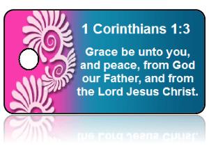 1 Corinthians 1:3 Bible Scripture Key Tags
