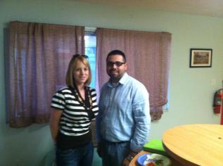 Heather Gore and David Cabrera