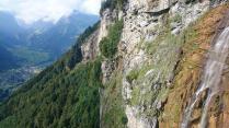 Waterfall above Linthal