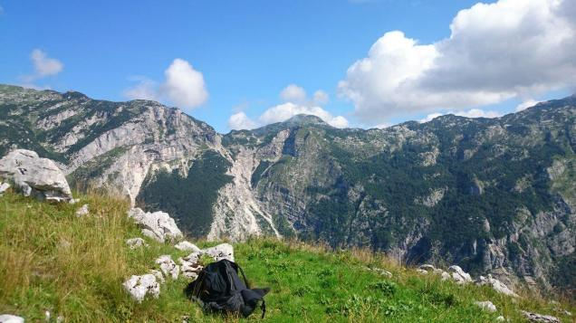 Hike and fly near Tolmin